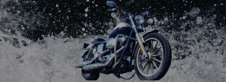 バイク水没対策