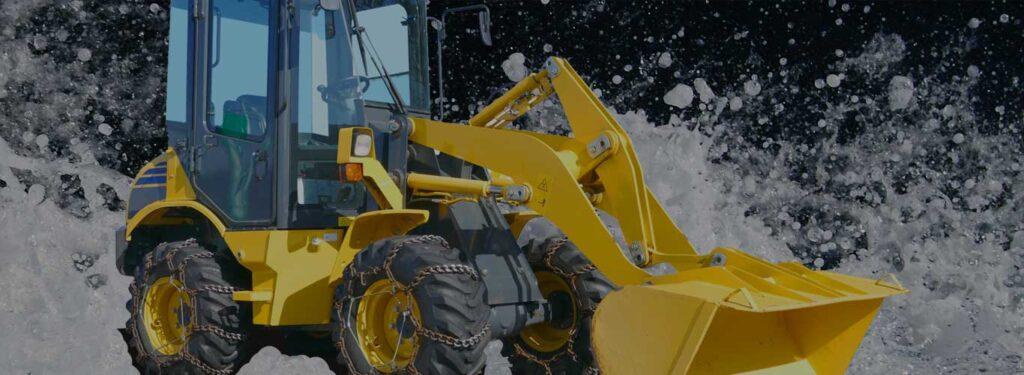 除雪機械 水没対策
