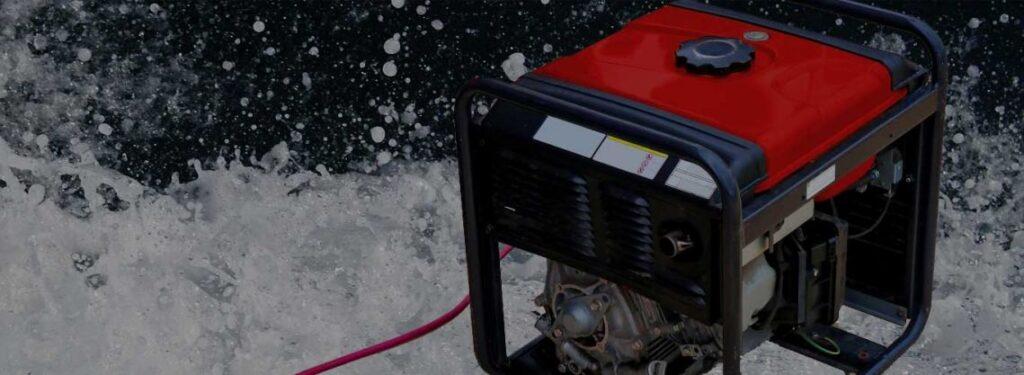 非常用発電機(蓄電池) 水没対策