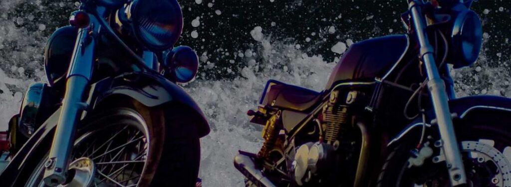 バイクショップ水没対策