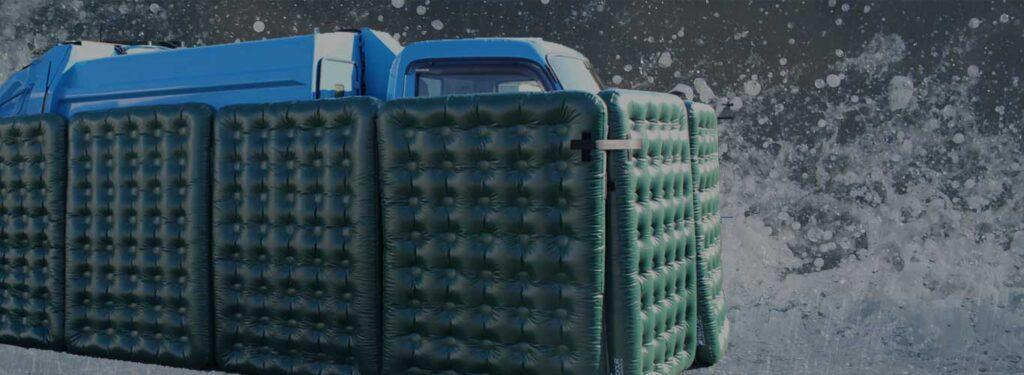 特殊車両 水没対策