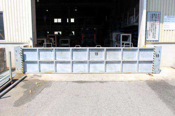 工場 シャッター 浸水防止対策1