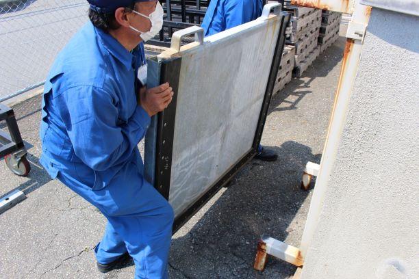 工場 ドア 浸水防止対策3