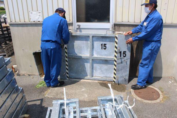 工場 ドア 浸水防止対策4